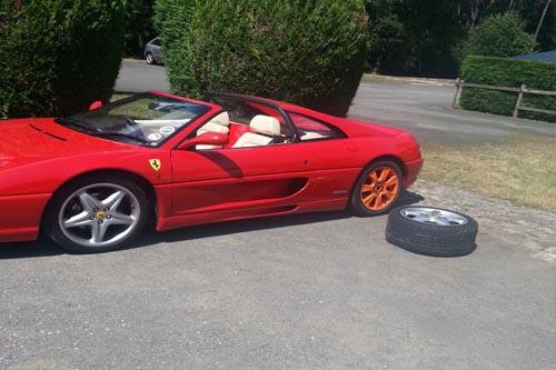 Xinix Wheel Technology Universal Spare Wheel Ferrari