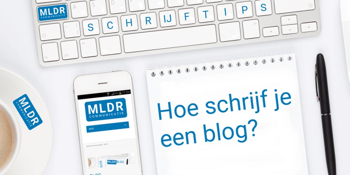 hoe schrijf je een blog?