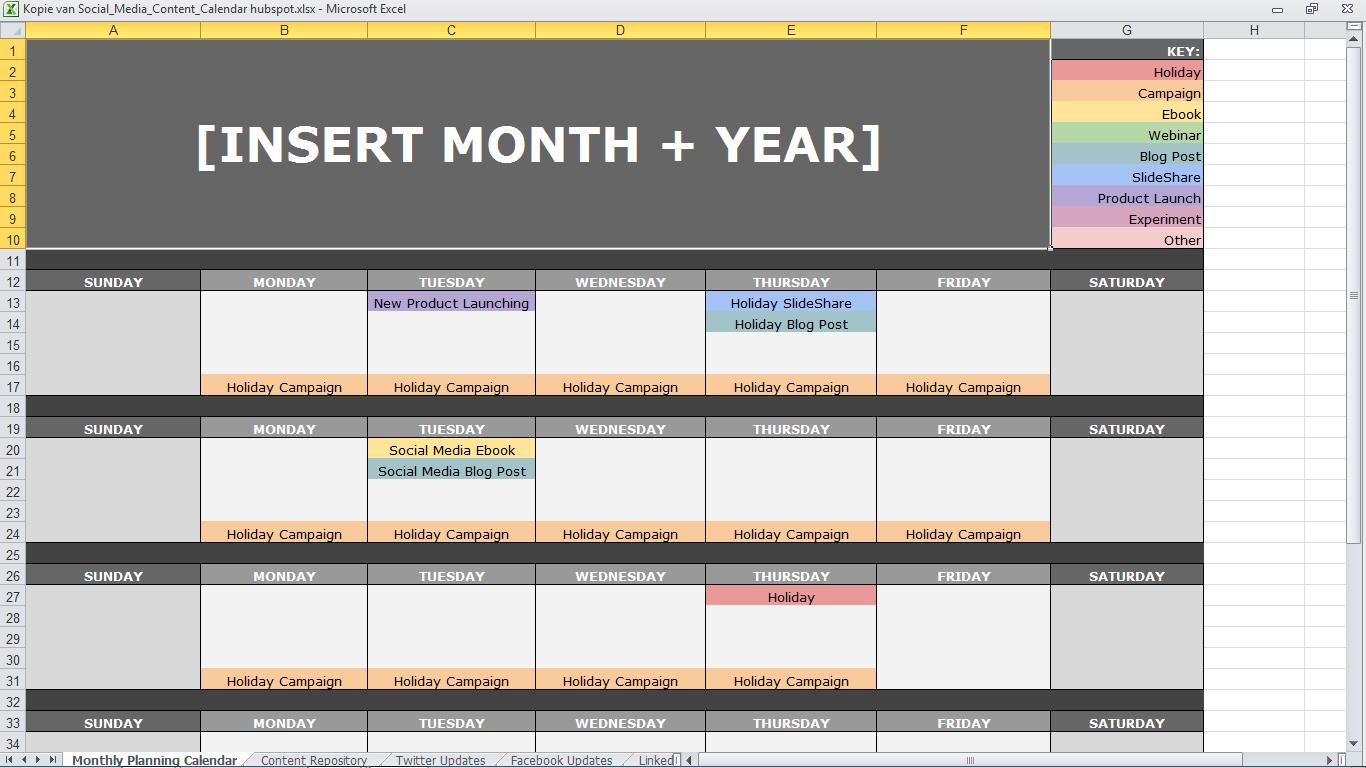 gratis content kalenders die je uren werk schelen mldr communicatie