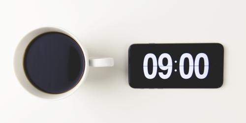 koffie 9:00 uur