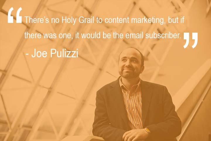 Email Marketing Joe Pulizzi