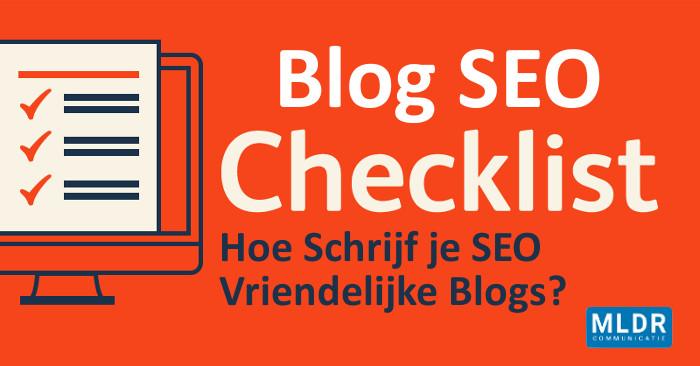blog seo tips checklist