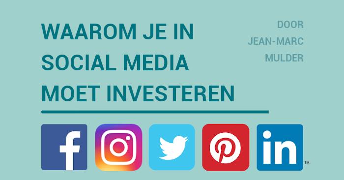Voordelen van Social Media Infographic
